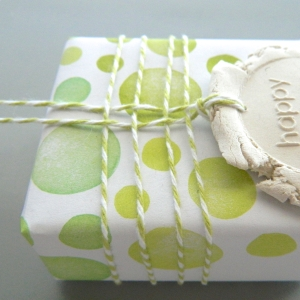 DIY Tutorial Stamped Clay Tag Gift | Creatiate