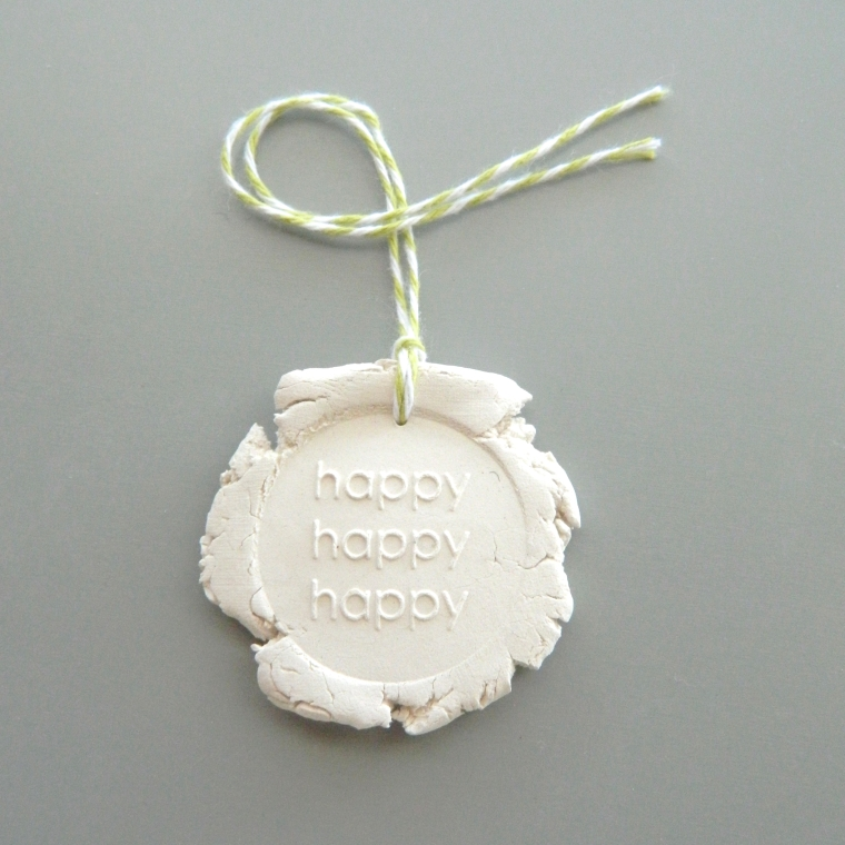 DIY Clay Tag Gift Tutorial | Creatiate